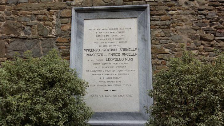 Filattiera: ricordo delle vittime  di  Ponticello