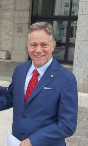 Il sindaco di Aulla Roberto Valettini