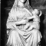 Madonna con Bambino.  Chiesa di San Terenzo Monti (Fivizzano)