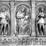 Maestro di Virgoletta, Madonna con il Bambino e Santi. Virgoletta, chiesa dei Santi Giovanni e Protasio