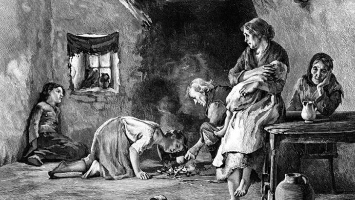 Carestia: quando a morire di fame eravamo noi. Mancanza di cibo e tifo nel 1816-17