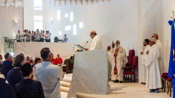 """Inaugurata a Marina di Massa la nuova chiesa di San Giuseppe """"Vecchio"""""""
