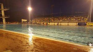 La piscina del Villasport a Villafranca