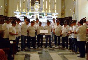 Il Coro Ana di Canossa (RE)