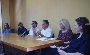 La conferenza stampa che ha presentato l'evento (foto Massimo Pasquali)