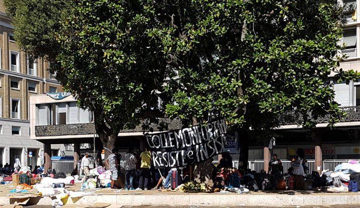 Lo sgombero dei rifugiati a Roma: i problemi si risolvono con il dialogo e non con la forza