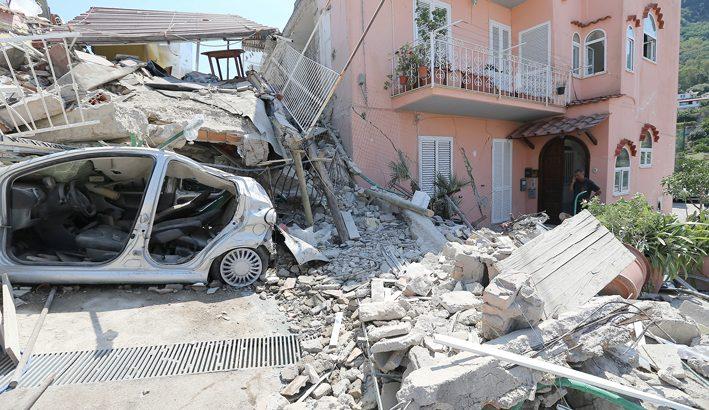 Terremoto: in Italia gli edifici sono deboli rispetto alla sismicità