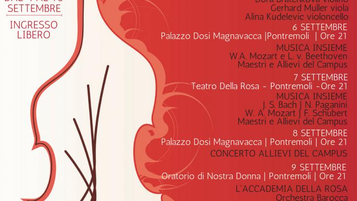 """Al via il """"Campus Musicale della Lunigiana"""""""