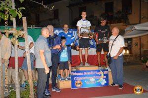 Il podio maschile a Fivizzano