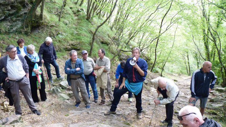 """A Pontremoli recuperati gli """"Scaleri"""", antico sentiero di Pracchiola"""