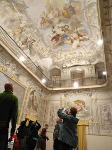 Il salone di palazzo Dosi Magnavacca a Pontremoli