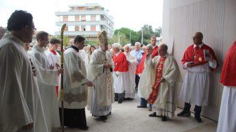 Consacrata la nuova chiesa di SanGiuseppe Vecchio
