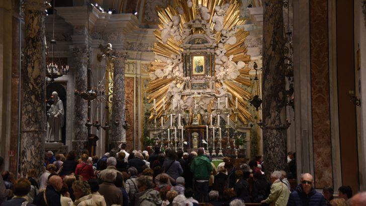 Pellegrinaggio a Montenero: ai piedi di Maria per chiedere la sua protezione