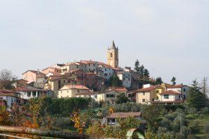 Vista della frazione di Ceserano