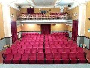 La sala rinnovata del cinema Manzoni