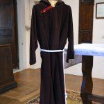 Il saio di San Pio da Pietrelcina conservato nell'ex convento dei Cappuccini a Pontremoli