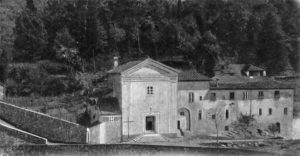 La chiesa e il convento dei PP. Cappuccini a Pontremoli come si presentava tra le due guerre