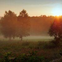Le prime brume d'ottobre