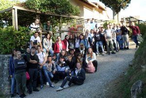"""Le classi dell'Istituto """"Belmesseri"""" di Pontremoli in visita a Barbiana"""