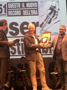Sul palco di Soresina anche Francesco Moser