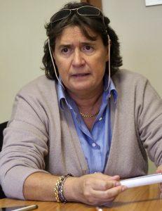 L'assessore regionale alla sanità Stefania Saccardi