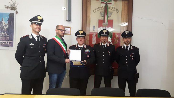 Il Comune di Zeri ha celebrato i 15 anni di servizio dei Carabinieri