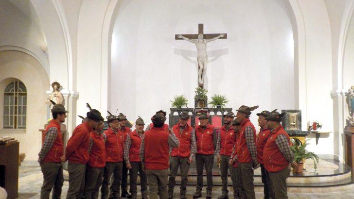 Bagnone: il Coro A.N.A. Monte Sillara a Villar Perosa