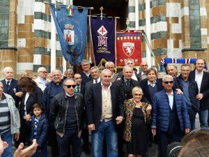 I funerali di Eugenio Bersellini. Tanti i campioni che sono giunti ad onorare il grande allenatore (tra gli altri si riconoscono tre campioni del Mondo del 1982: Alessandro Altobelli, Giuseppe Bergomi e Gabriele Oriali).