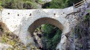 Pracchiola: inaugurazione del restauro del ponte romanico della Colombara