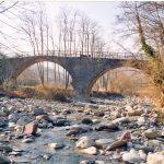 Il ponte sul Gordana lungo la strada per Cavezzana