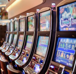 Immagine di repertorio di alcune slot machine