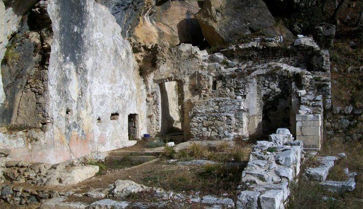 Fivizzano: il bucamon nella  valle del Lucido