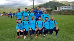 La squadra della Fivizzanese vincente nell'ultimo turno contro il San Macario