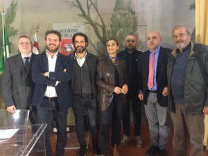 I partecipanti all'Incontro, lo scorso 20 novembre, a Firenze sulla Via Francigena