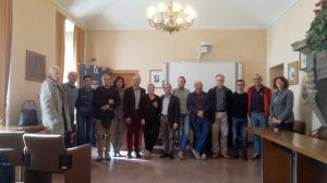 Comitato dei pendolari e amministratori presenti all'incontro di Borgotaro