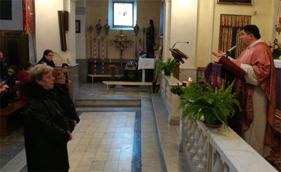 Due studenti della SDFTP diventano Ministri straordinari della Comunione a Monti di Licciana