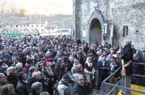 La platea presente all'inaugurazione