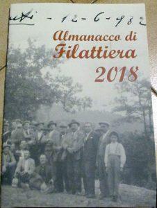 La copertina dell'almanacco di Filattiera 2018