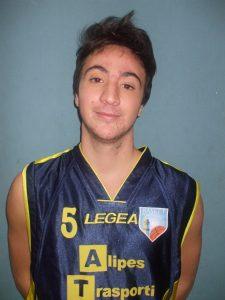 Francesco Furlan, ottima prova del giocatore del Pontremoli Basket