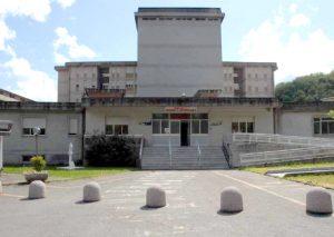 L'ingresso dell'ospedale Sant'Antonio Abate Pontremoli