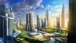 Una ipotetica città del futuro