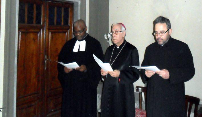 """Celebrazione ecumenica: """"Verrà un tempo in cui saremo in comunione gli uni con gli altri"""""""