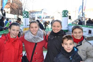 I ragazzi lunigianesi che hanno partecipato alla gara BOclassic 2017 di Bolzano
