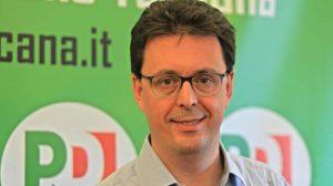 Nicola Danti, commissario del Partito Democratico di Massa Carrara nella fase precedente il congresso provinciale