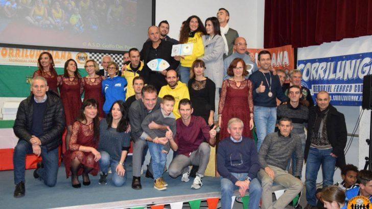 Premiazione dei vincitori del Corrilunigiana
