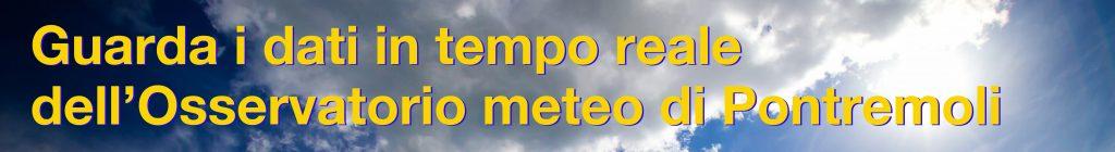 dati meteo