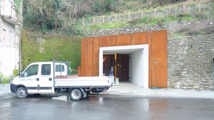 Ascensore ai box per infiltrazioni di acqua nel tunnel di accesso