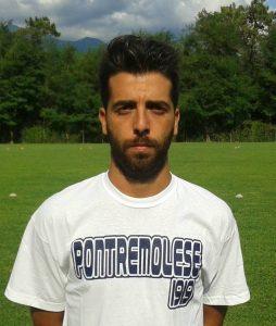 Mirko Balestracci. Il centrocampista della Pontremolese è stato autore del gol della bandiera della formazione allenata da mister Ruvo