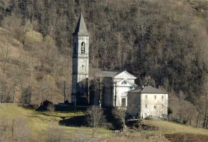 La chiesa parrocchiale di Santa Maria Maddalena ad Adelano di Zeri (Foto Alberto Rubini)