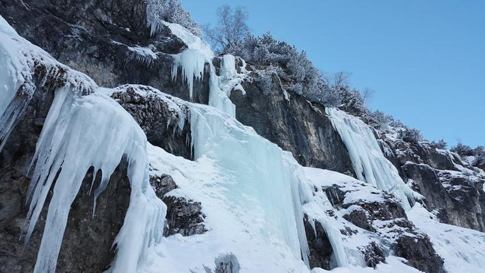 L' inverno chiude con un rush glaciale
